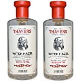 12 Oz (Pack Of 2) : Thayers Alcohol-free Rose Petal Witch Hazel With Aloe Vera, 12 Oz(Pack Of 2)