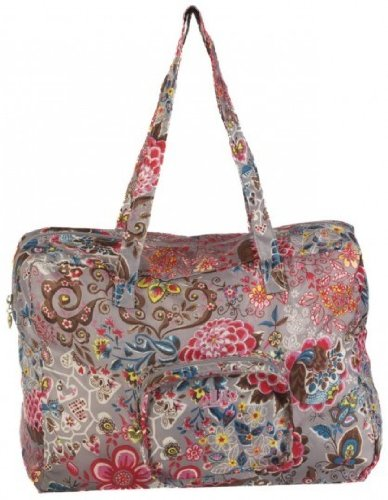 oilily-painted-flowers-folding-shopper-stone-ocb0117-9000-sac-a-main-femme-gris-taille-unique
