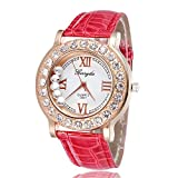 Platinum Accented Movement Leather Childrens