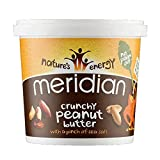 Meridian Natural Crunchy Peanut Butter With No Added Salt 1 Kg (Pack of 1)