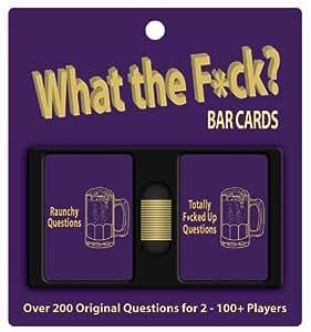 WTF? Bar Cards