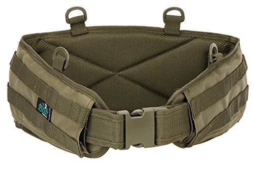 Rodut (TM) Gen II Battle Tactical Belt Military Belt (O.D.Green, Medium) (Tactical Padded Belt compare prices)