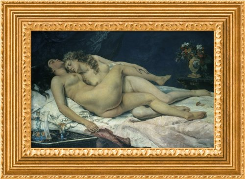 Sleep (Sommeil) By Gustave Courbet Framed Canvas front-693441