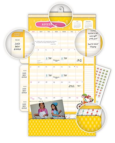 Moms Do It All 17 Months 2016 Calendar: Magnetic