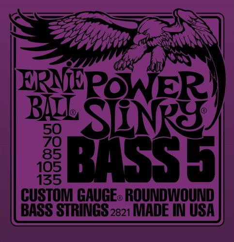 Ernie Ball 2821 Power Slinky 5-String Electric