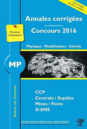 annales-des-concours-mp-physique-modelisation-et-chimie