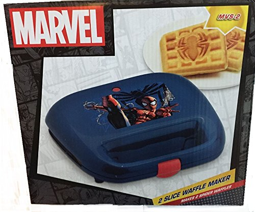 Purchase Marvel Spiderman 2 Slice Waffle Maker