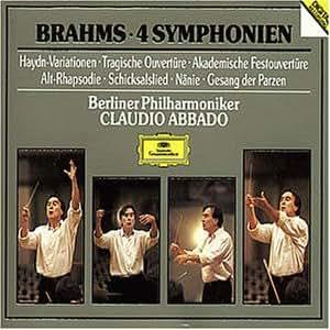 Brahms - 4 Symphonien