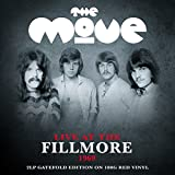 The Move Live At The Fillmore 1969 (2LP 180g Red Vinyl Gatefold Ed.) [VINYL]