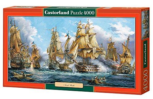 Jigsaw Puzzle - Naval Battle - Castorland - 4000 pezzi