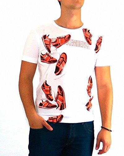 bikkembergs-tshirt-dirk-bikkembergs-footwear-fluo-3xl-white