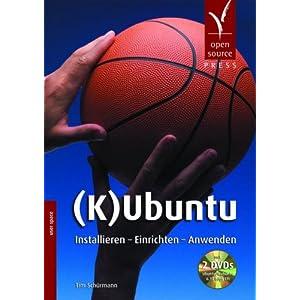 eBook Cover für  K Ubuntu Installieren Einrichten Anwenden mit 2 DVDs