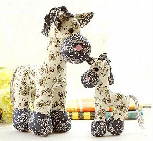 Plush Toy Doll Cute Cloth Doll Baby Doll Birthday Gift-Blue2