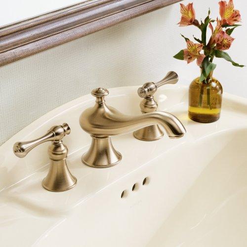 Danze kitchen faucets kohler k 16102 4a bn revival widespread lavatory faucet vibrant brushed for Kohler revival bathroom faucet