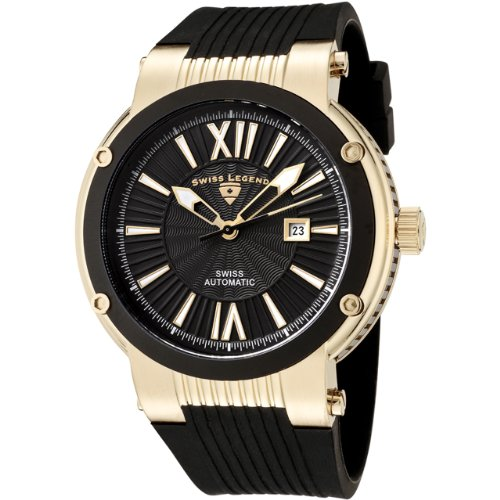 Swiss Legend Men&#8217;s 10006A-YG-01-BB Legato Cirque Automatic Collection Watch with Winder