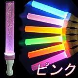 ももクロ のライブに ボタン電池4コ LR44(テスト電池付)キラキラ★ピンクタイプ!サイリウム ペンライト コンサート LED ペンライト コンサートライト スティックライト