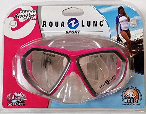 Pro Women Series Cardiff LX Mask in Hot Pink 1001288 (Aqua Lung Sport Pro Series compare prices)