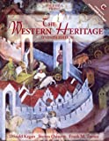 The Western Heritage, Volume A: To 1527 (7th Edition) (0130272825) by Kagan, Donald