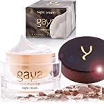 Night Cream Anti Aging Treatment – Luxury Vegan Ageing Skin Moisturising Lotion – Deeply Nourishes & Enriches Facial Skin Moisture to Restore Natural Glow – In a 50ml Jar