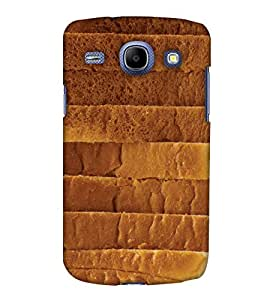 Print Haat Back Cover for Samsung Galaxy Core (Brown)