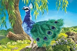 "Folkmanis Peacock Puppet 18"" from Folkmanis"