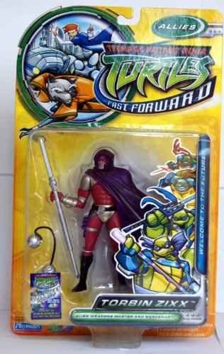 Buy Low Price Playmates Teenage Mutant Ninja Turtles: Fast Forward 5″ Torbin Zixx Action Figure (B000HDUAYQ)