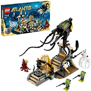 LEGO Atlantis 8061 Gateway of the Squid