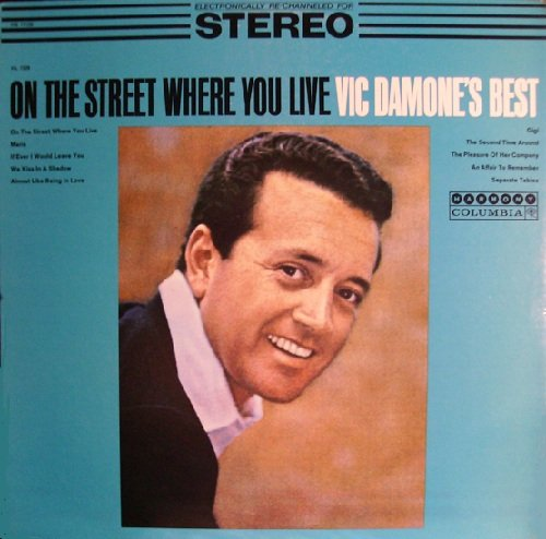 Vic Damone's Best: On The Street Where You Live (Harmony) (Includes The Hard-To-Find Track... by Vic Damone