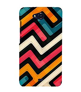 GADGET LOOKS PRINTED BACK COVER FOR MICROMAX CANVAS PLAY Q355 MULTICOLOR