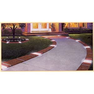 Lets Edge It Decorative Plastic Brick Edging With 6 Built-In <a href=