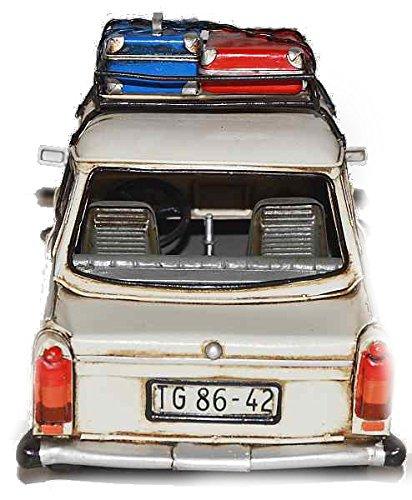 Model Car Trabant - Retro Tin Model
