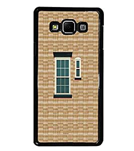 PrintDhaba Window Design D-3222 Back Case Cover for SAMSUNG GALAXY A7 (Multi-Coloured)