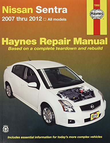 Nissan Sentra 2007 thru 2012 All Models (Haynes Repair Manual) (Haynes Nissan Sentra compare prices)