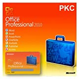 Software - Microsoft Office Professional 2010 PKC 1 PC / 1 User (Product Key Card) OEM