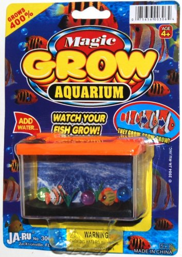 Ja-Ru Magic Grow Aquarium (Pack Of 6)