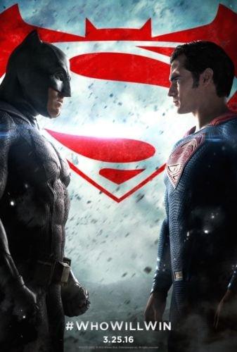 US版ポスター バットマンvsスーパーマン Batman vs Superman us6 69×101cm 両面印刷 D/S