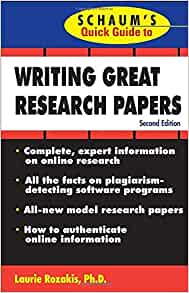 great guide guide papers quick quick research schaums writing