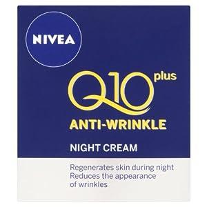 NIVEA Q10 Plus Anti-Wrinkle Night Cream - 50ml