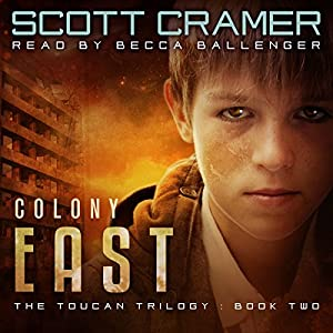 Colony East Audiobook
