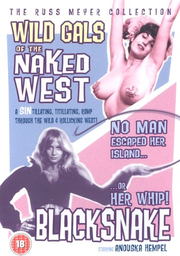Wild Gals of the Naked West / Black Snake [DVD]