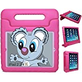 KAYSCASE KidBox Protective Cover Case with Stand and Handle for Apple iPad 2, 3, 4 (Pink)