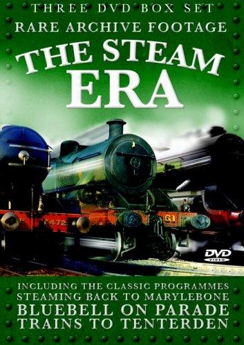 THE STEAM ERA  (COFFRET DE 3 DVD)