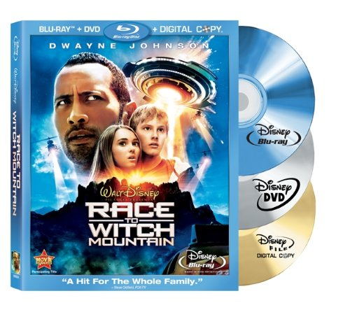 Cover art for  Race to Witch Mountain (Three-Disc Edition: Blu-ray/DVD/Digital Copy)