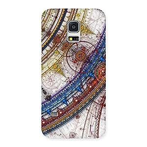 Enticing Sonarp Multicolor Back Case Cover for Galaxy S5 Mini