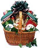 Gift Basket Village A Cut Above Holiday Cheese and Sausage Gift Basket