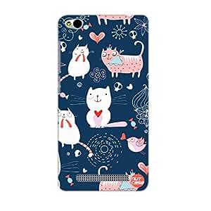 Designer Xiaomi Redmi 3 Case Cover Nutcase -It's A Cats World -