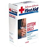 Johnson & Johnson Cotton Balls, Sterile 130 balls