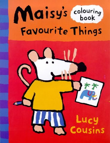 Maisy's Favourite Things Colouring Book