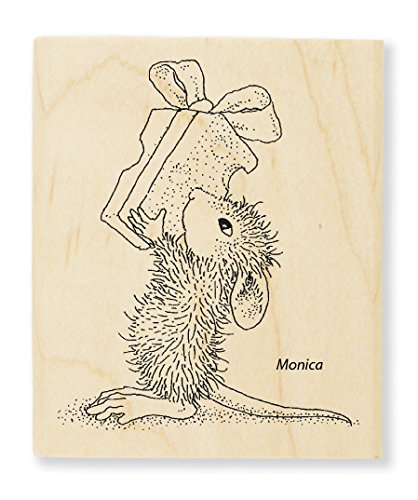 Stampendous Cheesy Gift Rubber Stamp