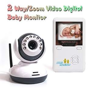 2.4GHz Digital Wireless Baby Monitor Camera Video Audio Night Vision